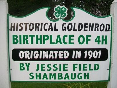 Historical Goldenrod Marker image. Click for full size.