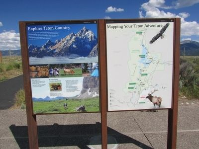 Explore Teton Country Marker image. Click for full size.