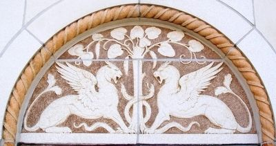 Aladdin Hotel Terra Cotta Detail image. Click for full size.