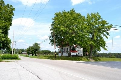 Intersection of Hawk Creek Road<br>and Swiss Colony Lane image. Click for full size.