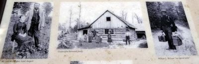 Close-up from marker of<br>Scenes from Bernstadt, Kentucky, ca. 1885 image. Click for full size.
