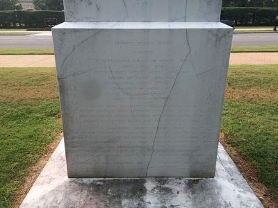 Richard Evelyn Byrd Marker, reverse side image. Click for full size.