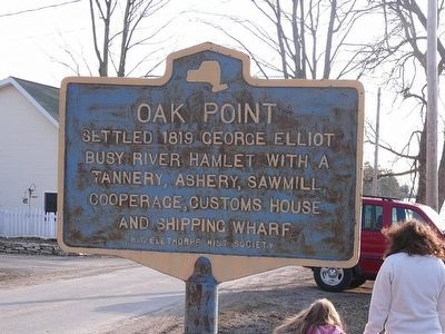 Oak Point Marker image. Click for full size.