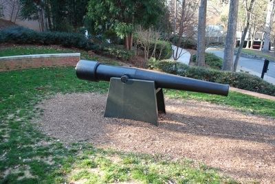 Civil War Siege Cannon image. Click for full size.