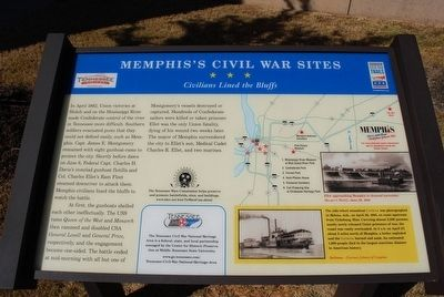 Memphis's Civil War Sites Marker image. Click for full size.