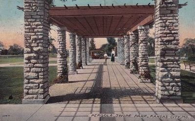 <i>Pergola, Swope Park, Kansas City, Mo.</i> Photo, Click for full size