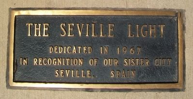 The Seville Light Fountain Marker image. Click for full size.