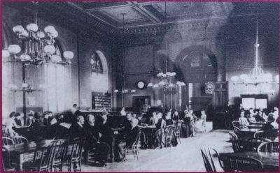 The main reading room of the original Pratt Free Library image. Click for full size.