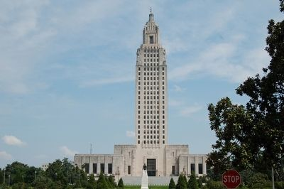 Louisiana State Capitol image. Click for full size.
