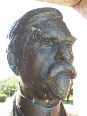 Delbert J. Haff Bust image. Click for full size.