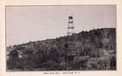 <i>Drilling Rig, Bolivar, N.Y.</i> image. Click for full size.
