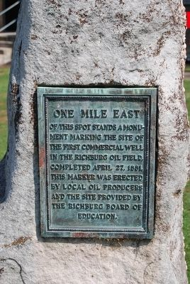 One Mile East of this Spot Marker image. Click for full size.