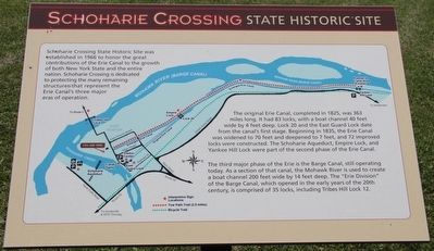 Schoharie Crossing Marker image. Click for full size.