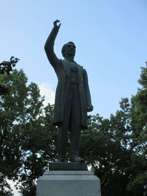 William H. Seward Memorial Statue image. Click for full size.