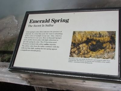 Emerald Spring Marker image. Click for full size.