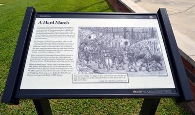 A Hard March Marker image. Click for full size.