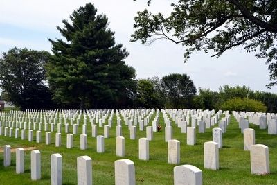 Mill Springs National Cemetery image. Click for full size.