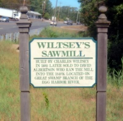 Wiltsey's Sawmill Marker image. Click for full size.