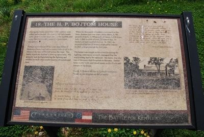 The H. P. Bottom House Marker image. Click for full size.