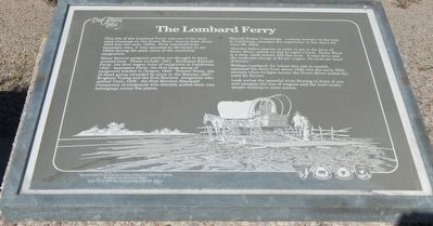 The Lombard Ferry Marker image. Click for full size.
