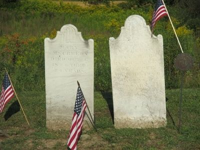 William McCreedy Site Headstones image. Click for full size.