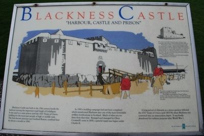 Blackness Castle Marker image. Click for full size.
