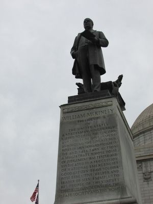 McKinley Statue image. Click for full size.