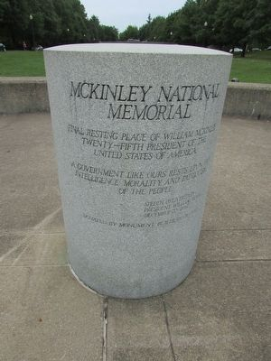 McKinley National Memorial Marker image. Click for full size.