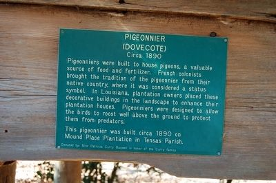 Pigeonnier Marker image. Click for full size.