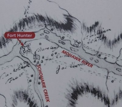 The Fort by the Village Marker image. Click for full size.