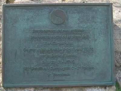 29th Infantry Division at Vierville-sur-Mer Marker image. Click for full size.