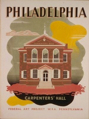 <i>Philadelphia - Carpenters&#39; Hall</i> image. Click for full size.