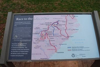 Race to the Dan River Marker image. Click for full size.