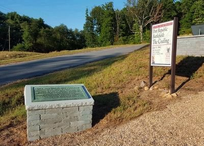 Port Republic Battlefield Marker (rebuilt) image. Click for full size.