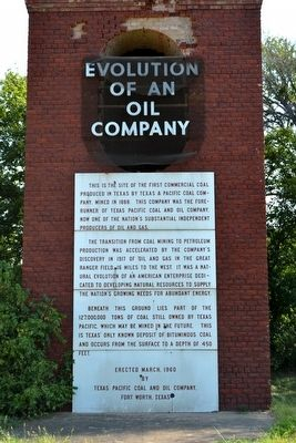 Evolution of an Oil Company Marker image. Click for full size.