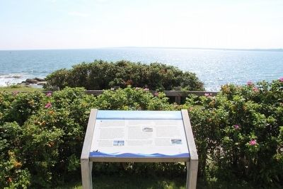 The West Passage to Narragansett Bay Marker image. Click for full size.