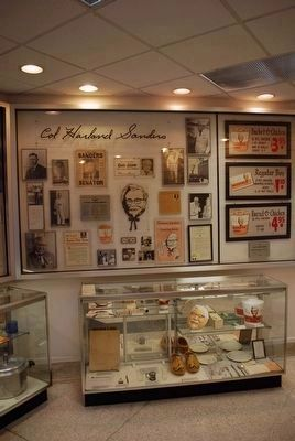 Display Inside Sanders Cafe Photo, Click for full size