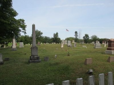 First Presbyterian Church of Dailey Ridge Cemetery image. Click for full size.