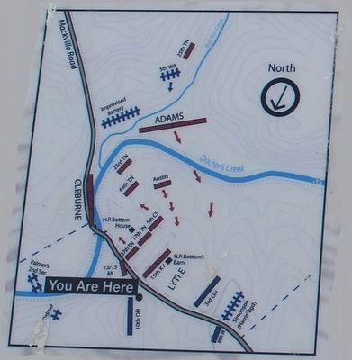Assault from the Bottom House Marker Map image. Click for full size.