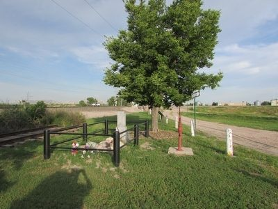 Marker in Scottsbluff image. Click for full size.