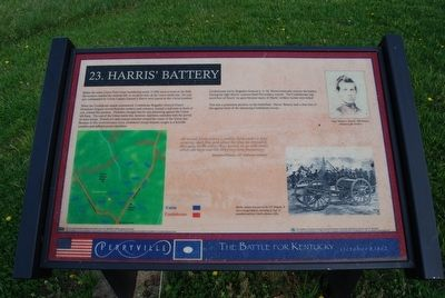 Harris' Battery Marker image. Click for full size.