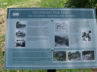 Preserving Fair Lane — An Iconic American Estate Marker image. Click for full size.