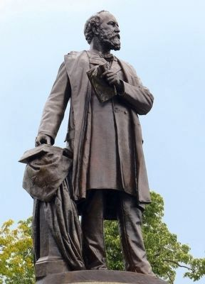 James A. Garfield Statue image. Click for full size.
