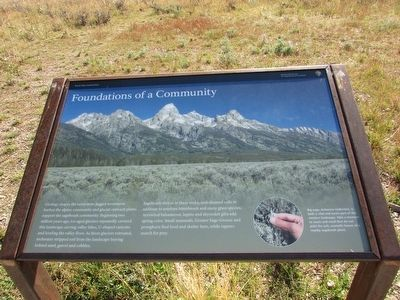 Foundations of a Community Marker image. Click for full size.