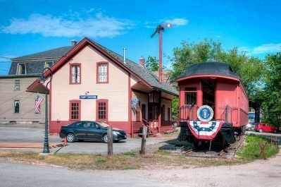 Contoocook Railroad Depot image. Click for full size.