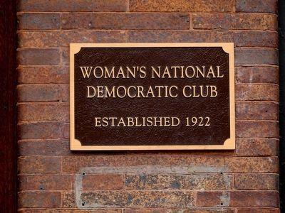 Woman's National Democratic Club image. Click for full size.