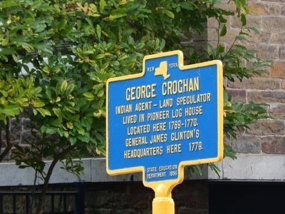 George Croghan Marker image. Click for full size.