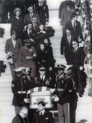 Lyndon Johnson's Funeral image. Click for full size.