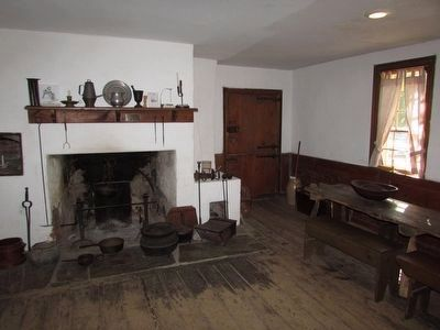 Van Wyck Homestead Kitchen image. Click for full size.