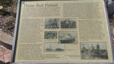 Those That Fished Marker image. Click for full size.